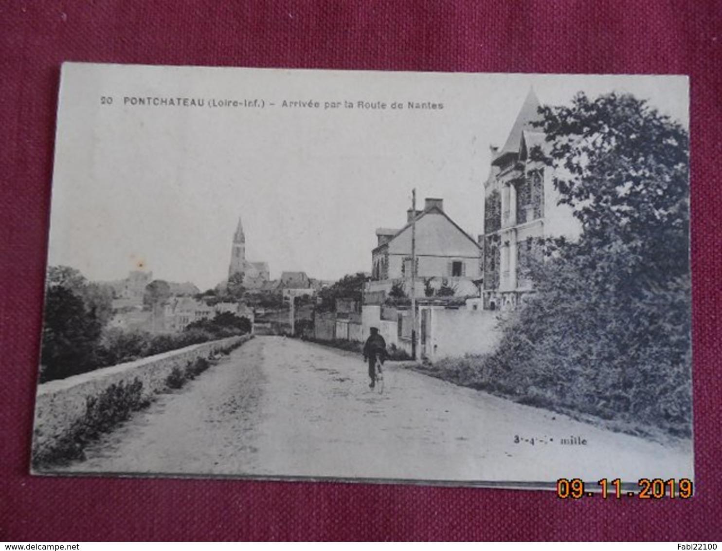 CPA - Pontchâteau - Arrivée Par La Route De Nantes - Pontchâteau