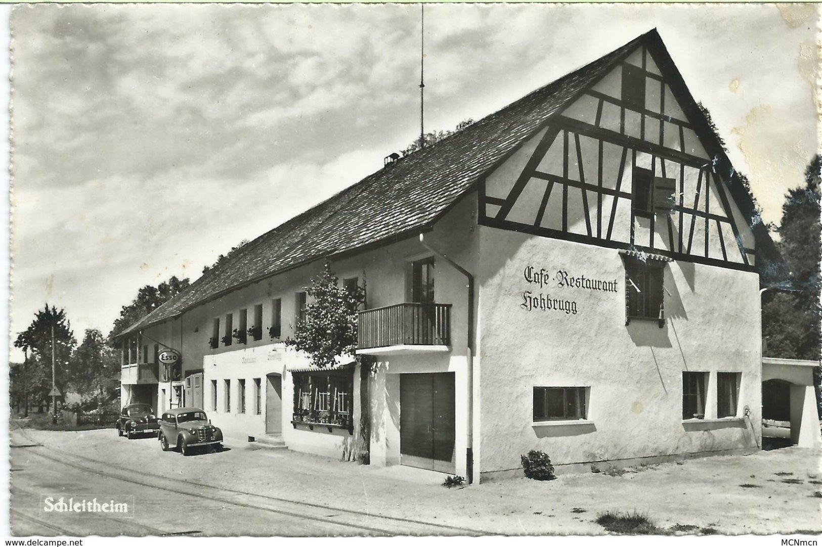 628. Schleitheim - Café -restaurant  Hohbrugg - SH Schaffhausen