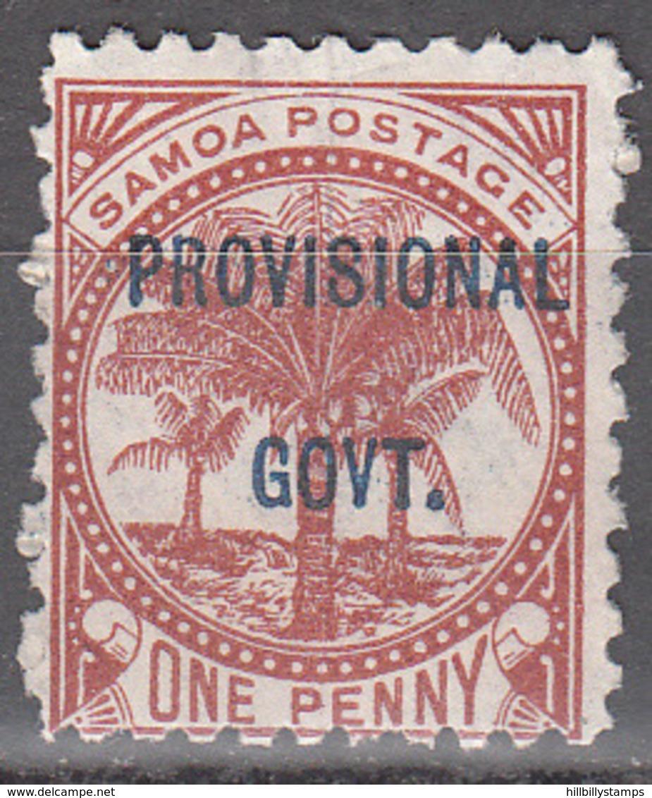 SAMOA    SCOTT NO. 32   NO GUM, UNUSED    YEAR  1899 - Samoa
