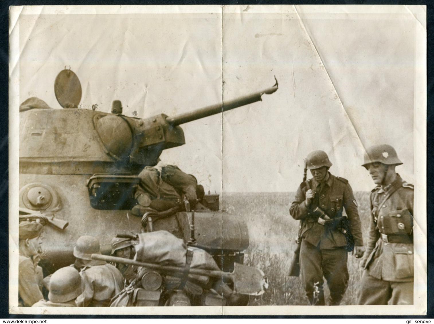 1942 WWII German War Photo / Weltbild - 1939-45