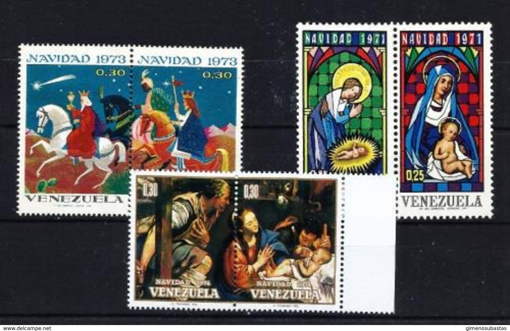 Venezuela Nº 837/8-895/6-943/4 Nuevo - Venezuela
