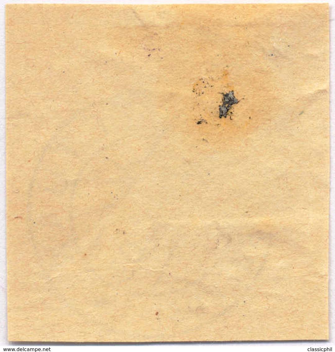 1908, 2 C., Sepia, TETUAN Overprint Violet, Used, On Piece, XF!. Estimate 350€. - Sin Clasificación