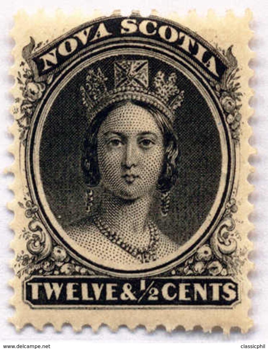 1860/63, 12 1/2 C., Black, MNH, F - VF!. Estimate 100€. - Unclassified
