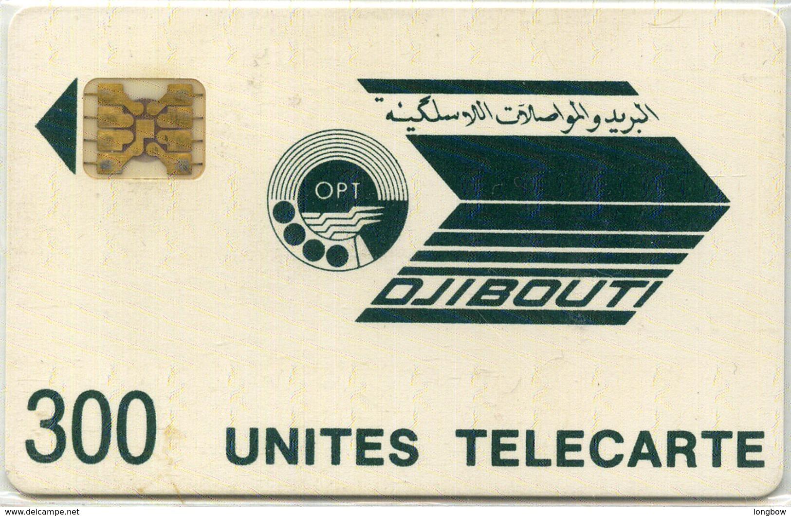 DJIBOUTI-N.6-300u-DARK GREEN LOGO-CN.8713 - Dschibuti