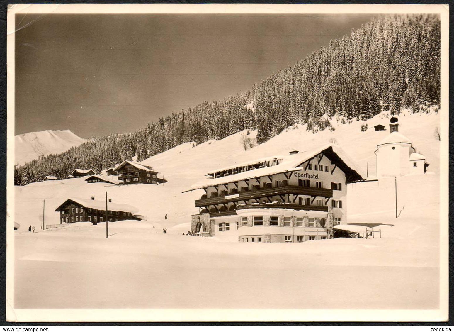 C9575 - Baad Mittelberg Kleinwalsertal - Alpen Sporthotel - Starzeljoch Grünhorn - Kleinwalsertal