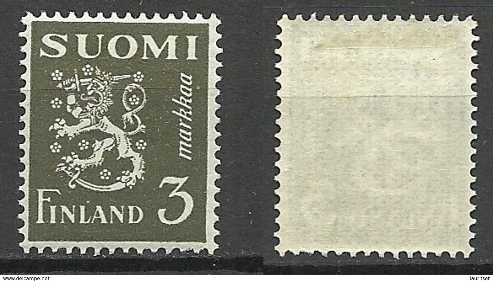 FINLAND Finnland SUOMI 1930 Michel 154 * - Unused Stamps