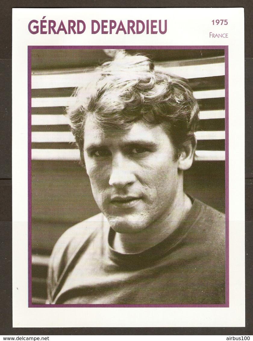 PORTRAIT DE STAR 1975 FRANCE - ACTEUR GÉRARD DEPARDIEU - ACTOR CINEMA FILM PHOTO - Fotos