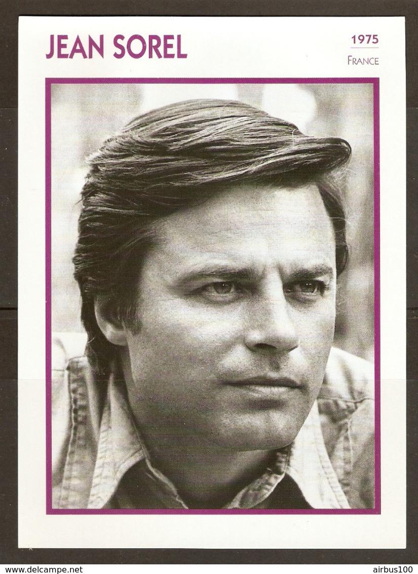 PORTRAIT DE STAR 1975 FRANCE - ACTEUR JEAN SOREL - ACTOR CINEMA FILM PHOTO - Photographs