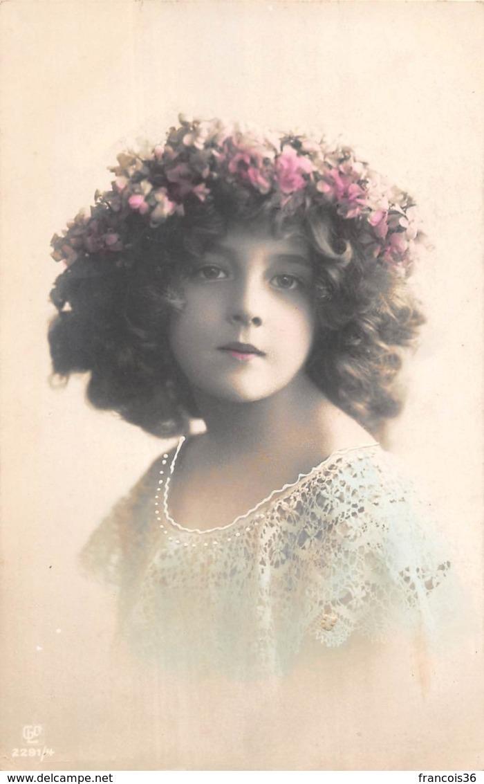 Carte CPA Fantaisie - Greta Reinwald - Jolie Jeune Fille Fillette - Edwardian Girl - Abbildungen