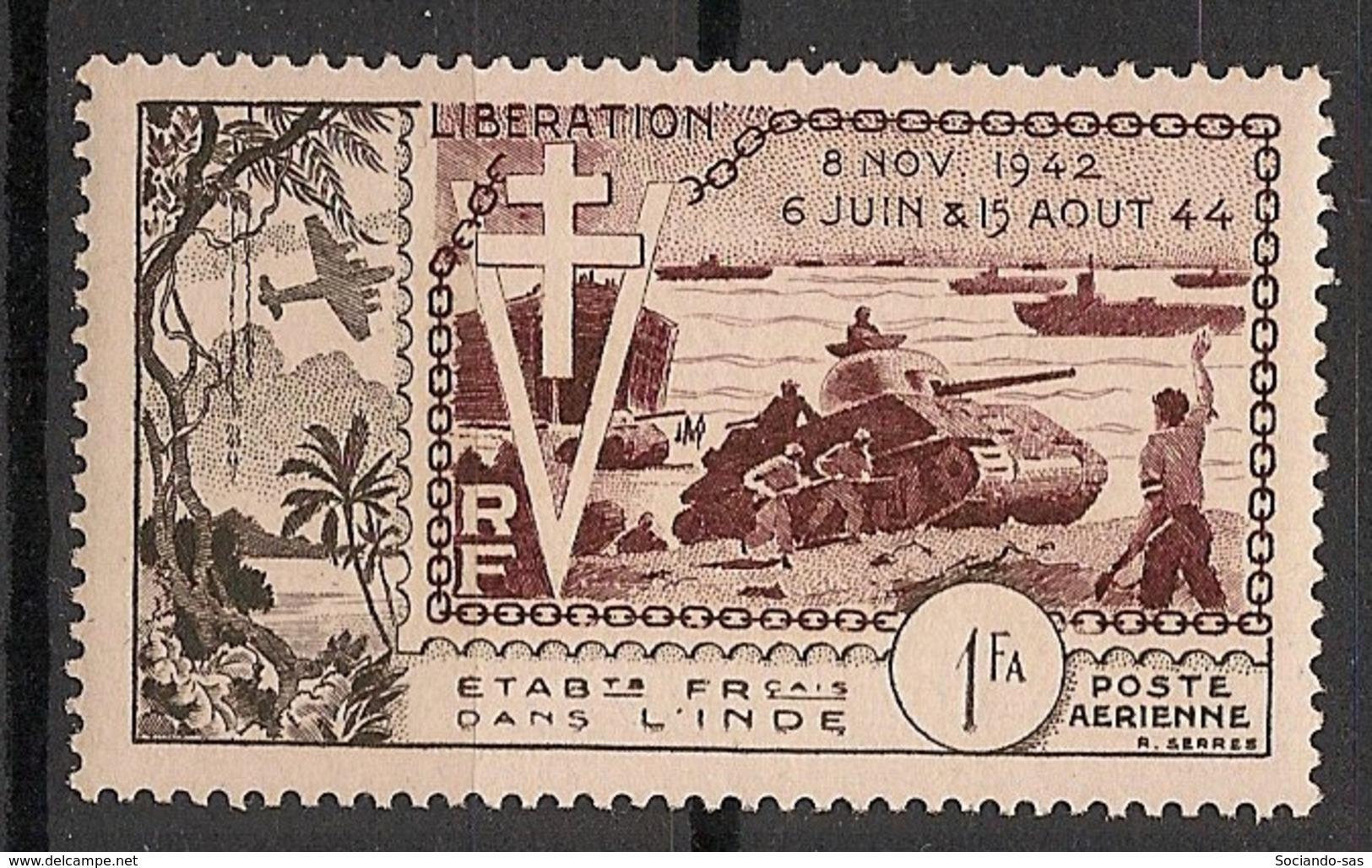 Inde - 1954 - Poste Aérienne PA N°Yv. 22 - Anniversaire De La Libération - Neuf Luxe ** / MNH / Postfrisch - India (1892-1954)