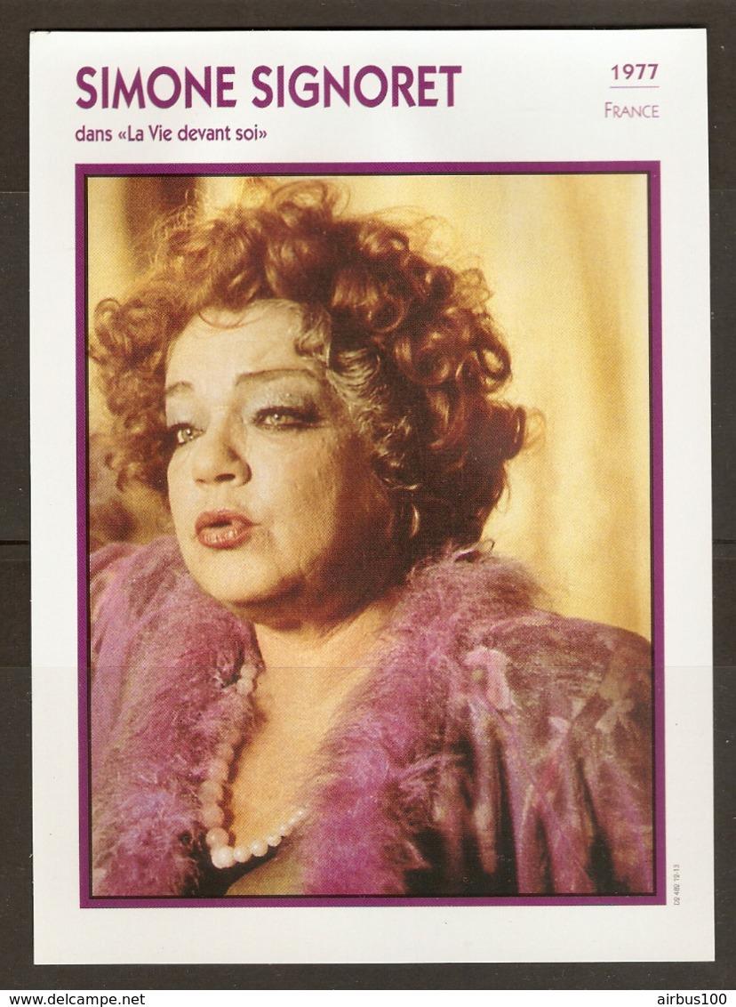 PORTRAIT DE STAR 1977 FRANCE - ACTRICE SIMONE SIGNORET Dans LA VIE DEVANT SOI - ACTRESS CINEMA FILM PHOTO - Fotos