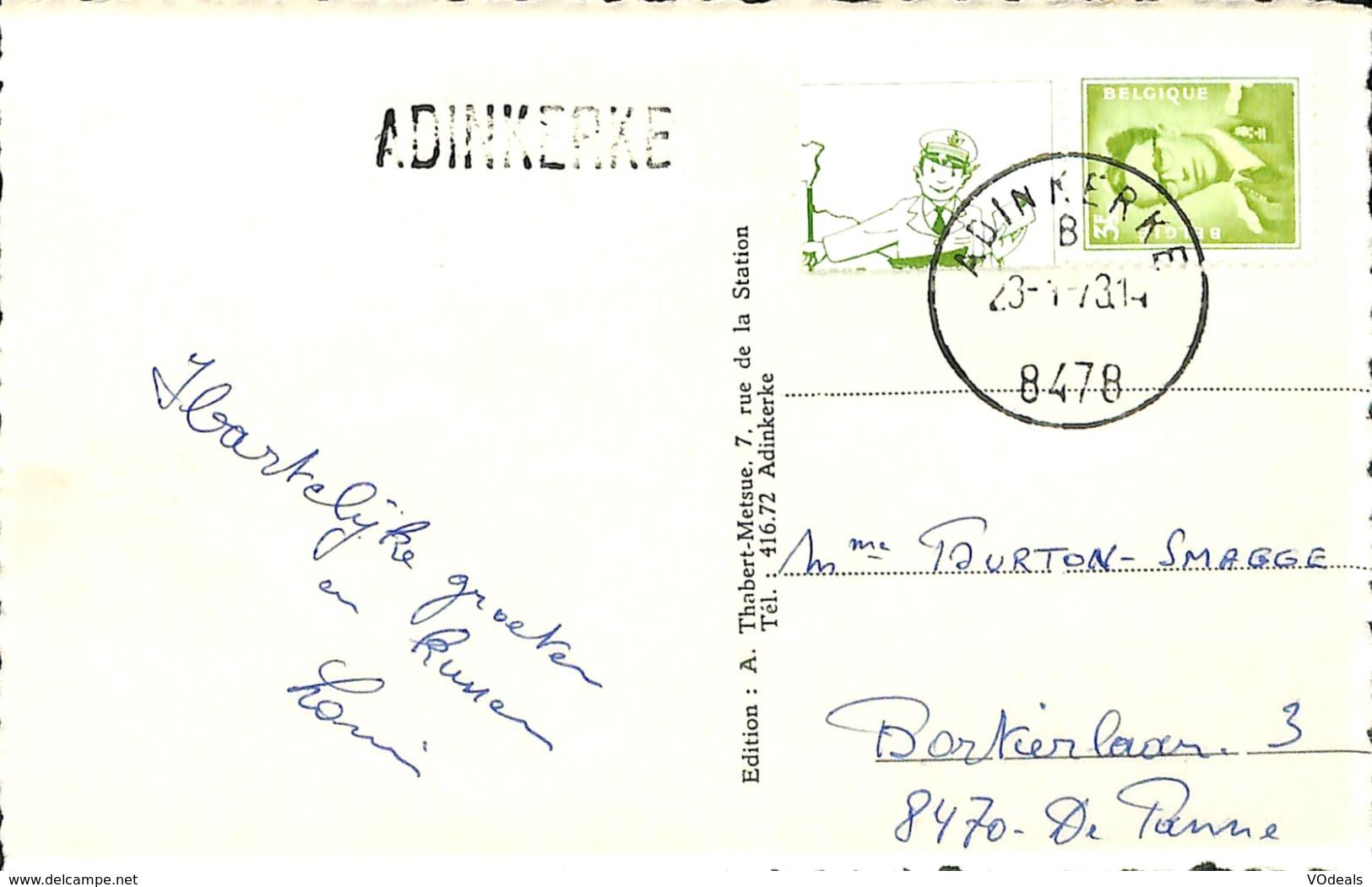 CPSM - Belgique - Adinkerke - Moeder Lambik - Pannelaan - Avenue De La Panne - Belgique