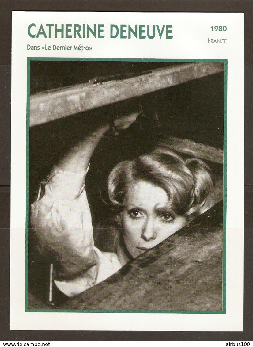 PORTRAIT DE STAR 1980 FRANCE - ACTRICE CATHERIENE DENEUVE Dans LE DERNIER MÉTRO - ACTRESS CINEMA FILM PHOTO - Fotos