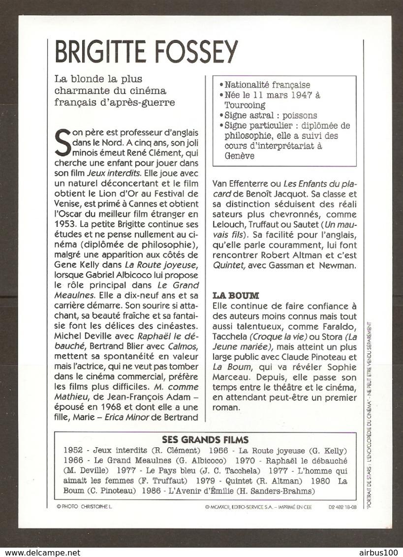 PORTRAIT DE STAR 1980 FRANCE - ACTRICE BRIGITTE FOSSEY - ACTRESS CINEMA FILM PHOTO - Fotos