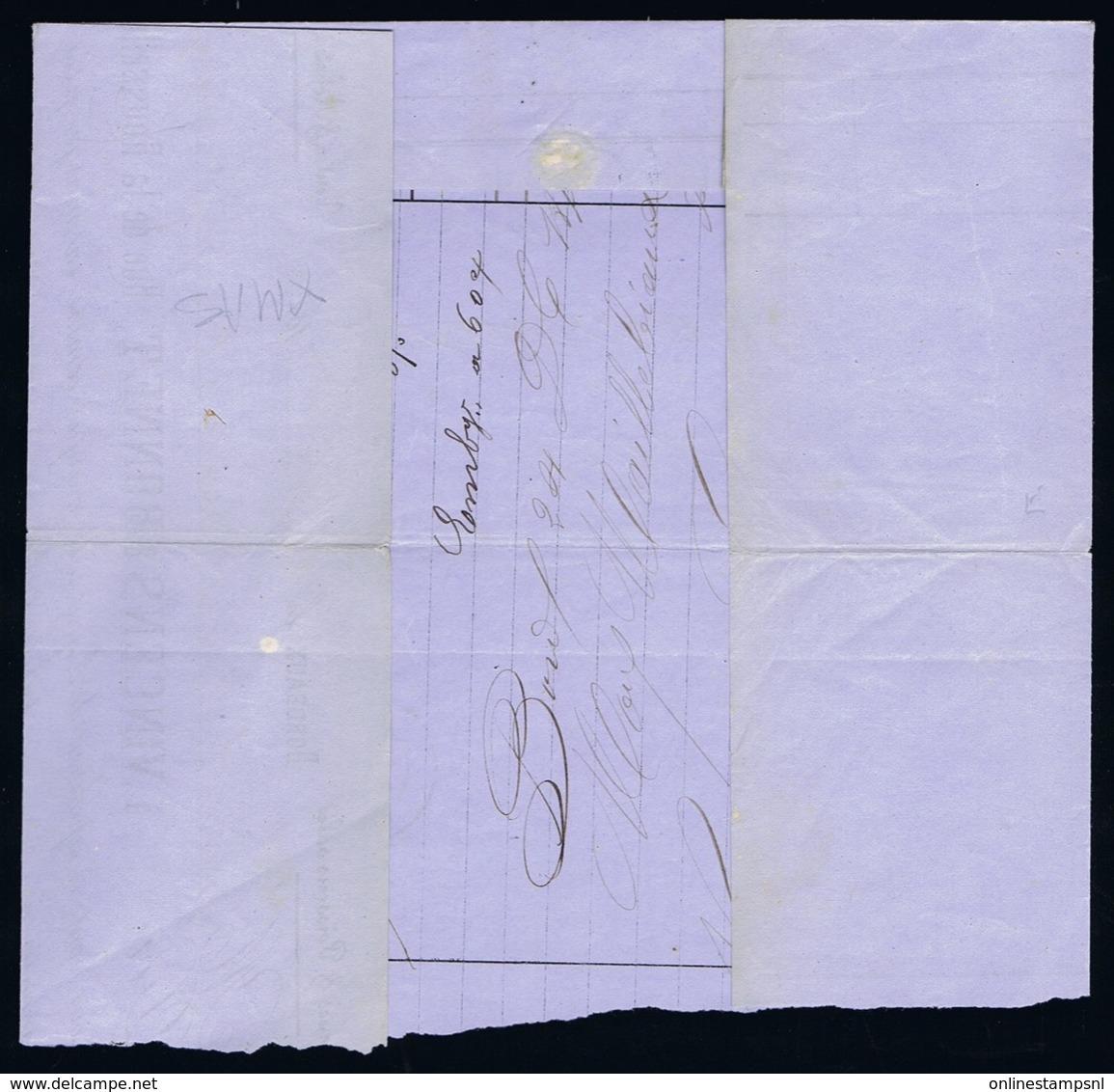 France Complete Letter Yv 45 Nordeaux -> Agen  Christmas Day 1870 - 1870 Uitgave Van Bordeaux