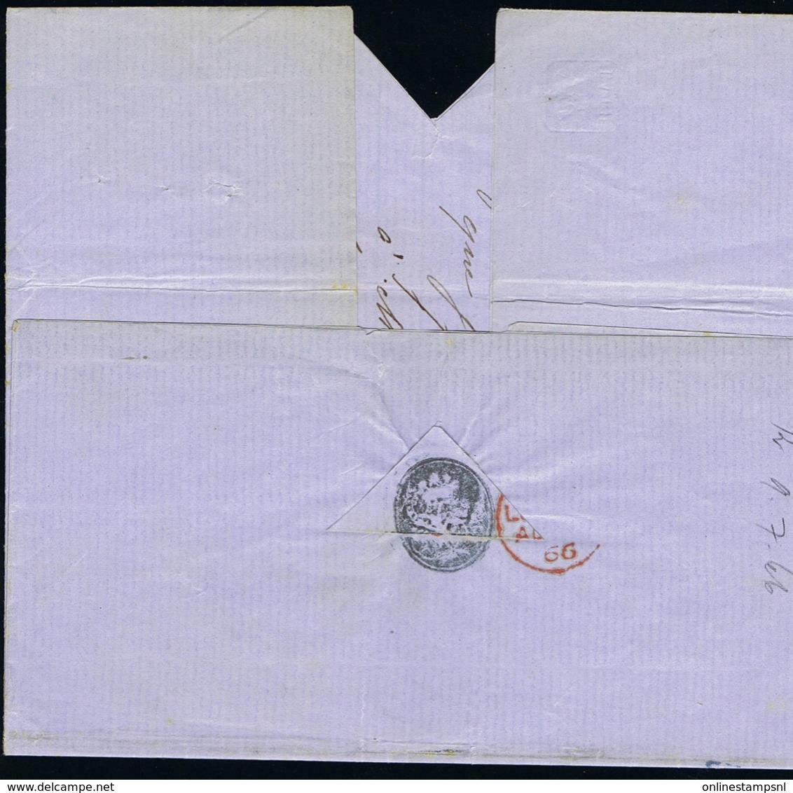 """Brasil Complete Letter 9-7-1866 Rio De Janeiro British Postoffice -> Calais Paris  GB 1""""50 D Cancel - Brazilië"""