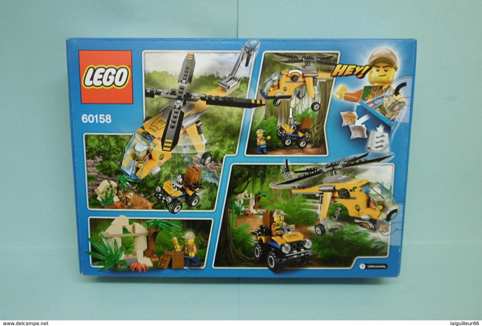 Lego City - L'HELICOPTERE CARGO DE LA JUNGLE Réf. 60158 Neuf En Boîte - Unclassified