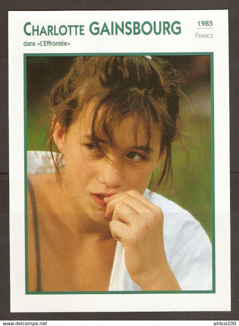 PORTRAIT DE STAR 1985 FRANCE - ACTRICE CHARLOTTE GAINSBOURG - ACTRESS CINEMA FILM PHOTO - Fotos