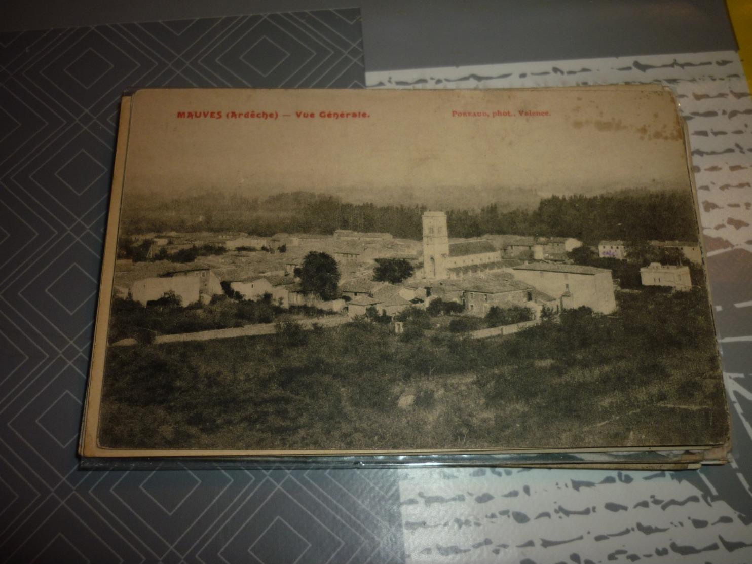 Carte Postale Ardeche Mauves Vue - Francia
