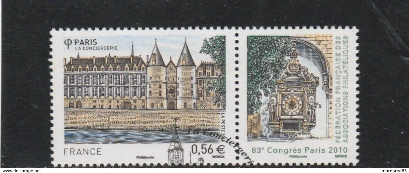 FRANCE 2010 LA CONCIERGERIE OBLITERE A DATE YT 4494 - Frankreich