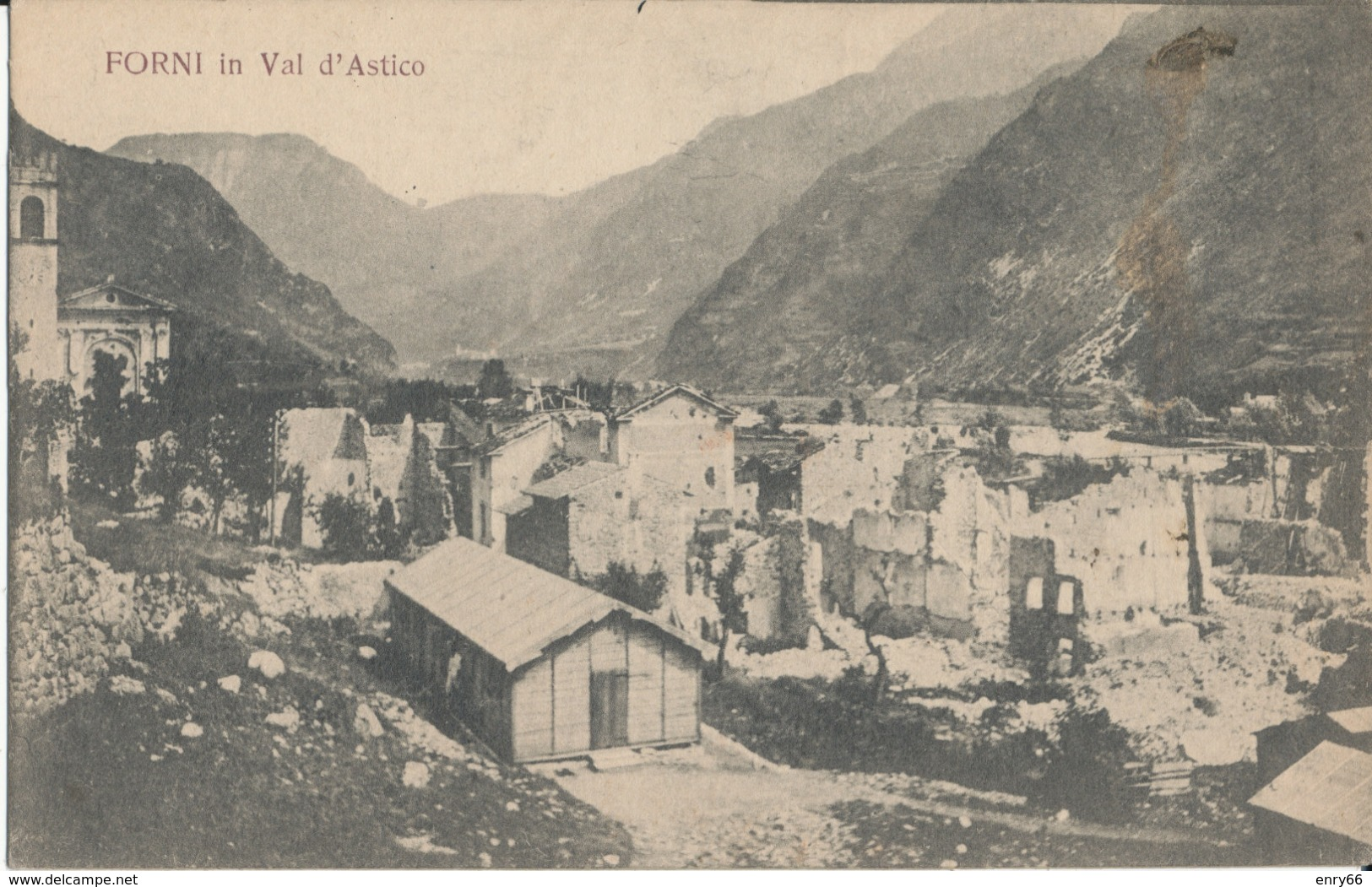 VICENZA-FORNI IN VAL D'ASTICO - Vicenza