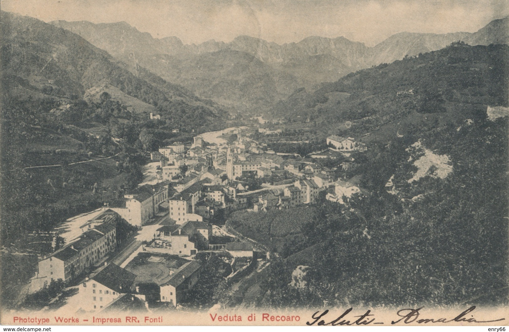 VICENZA-RECOARO PANORAMA - Vicenza