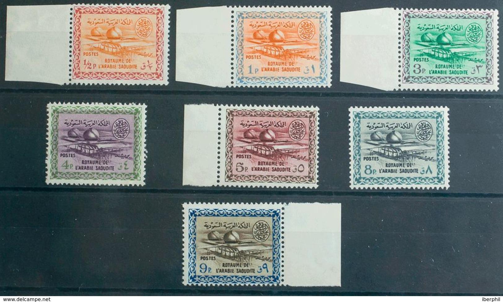 Arabia Saudita. MNH **Yv 212/17. 1963. Serie Completa. MAGNIFICA. Yvert 2011: 135 Euros. - Saudi Arabia