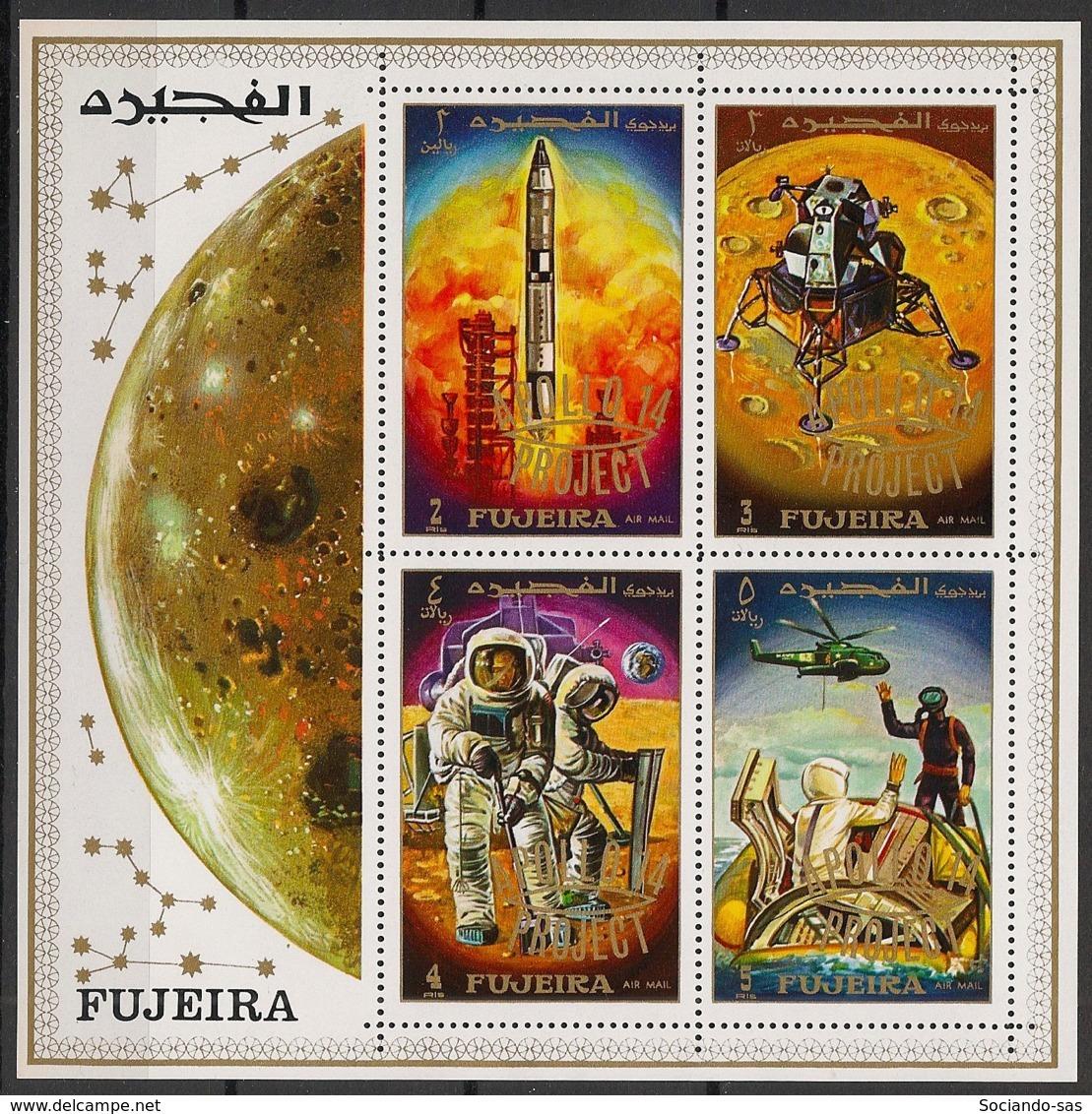 Fujeira - 1969 - Bloc N°Mi. 25 - Apollo 14 - Neuf Luxe ** / MNH / Postfrisch - Raumfahrt