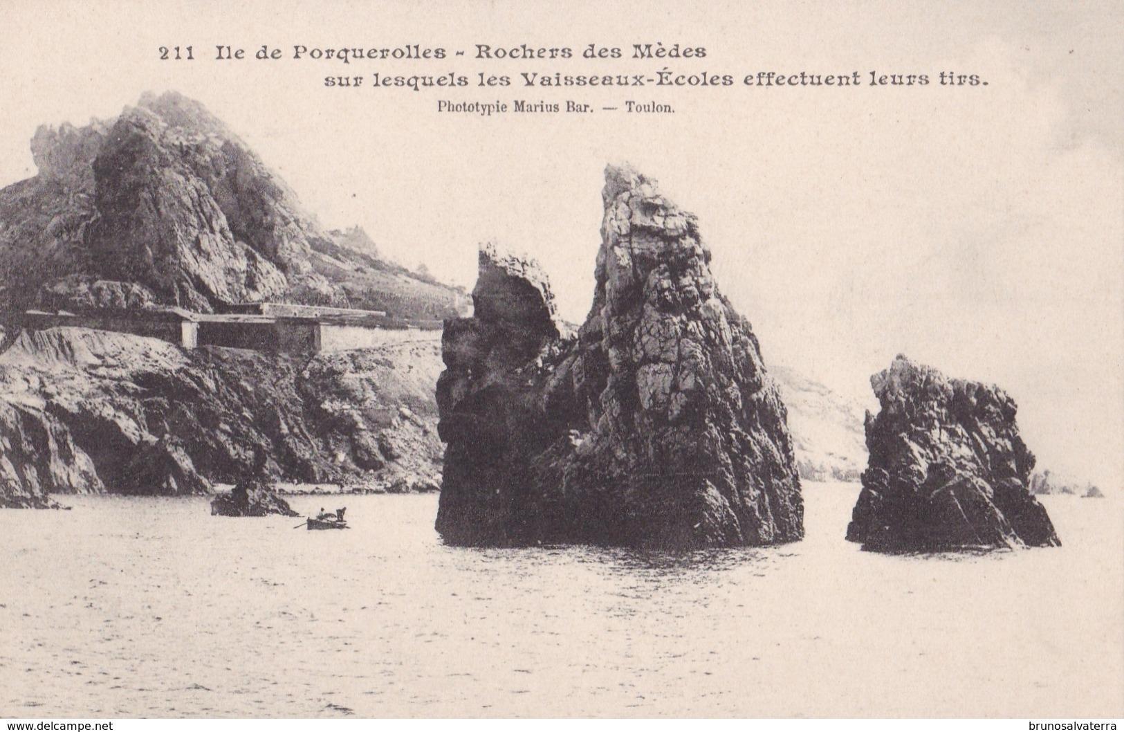 PORQUEROLLES - Rocher Des Mèdes - Porquerolles