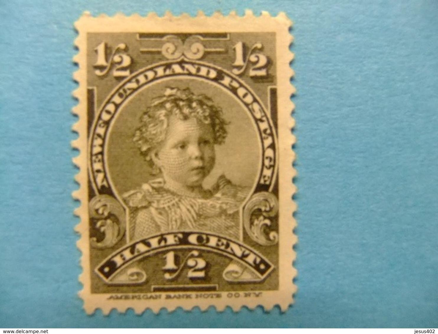 NEWFOUNDLAND TERRANOVA  TERRE NEUVE 1897 -1901 Prince Edouard Yvert  63 ( * ) - Newfoundland