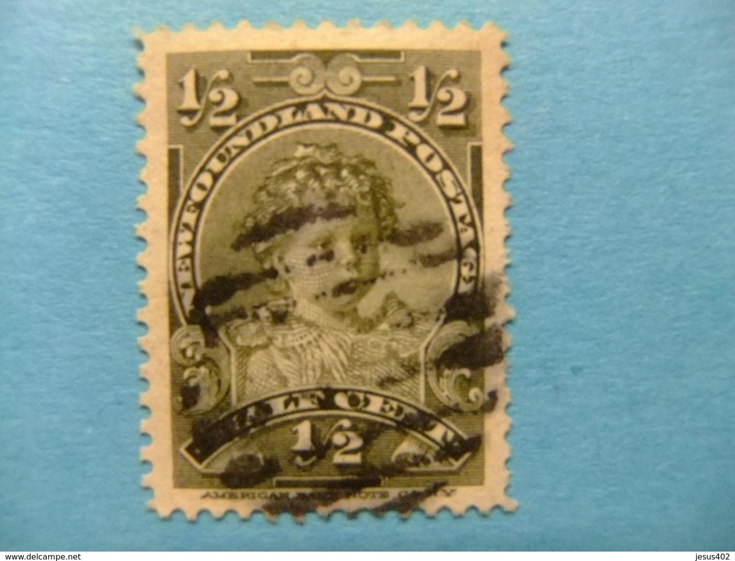 NEWFOUNDLAND TERRANOVA  TERRE NEUVE 1897 -1901 Prince Edouard Yvert  63 º FU - Newfoundland