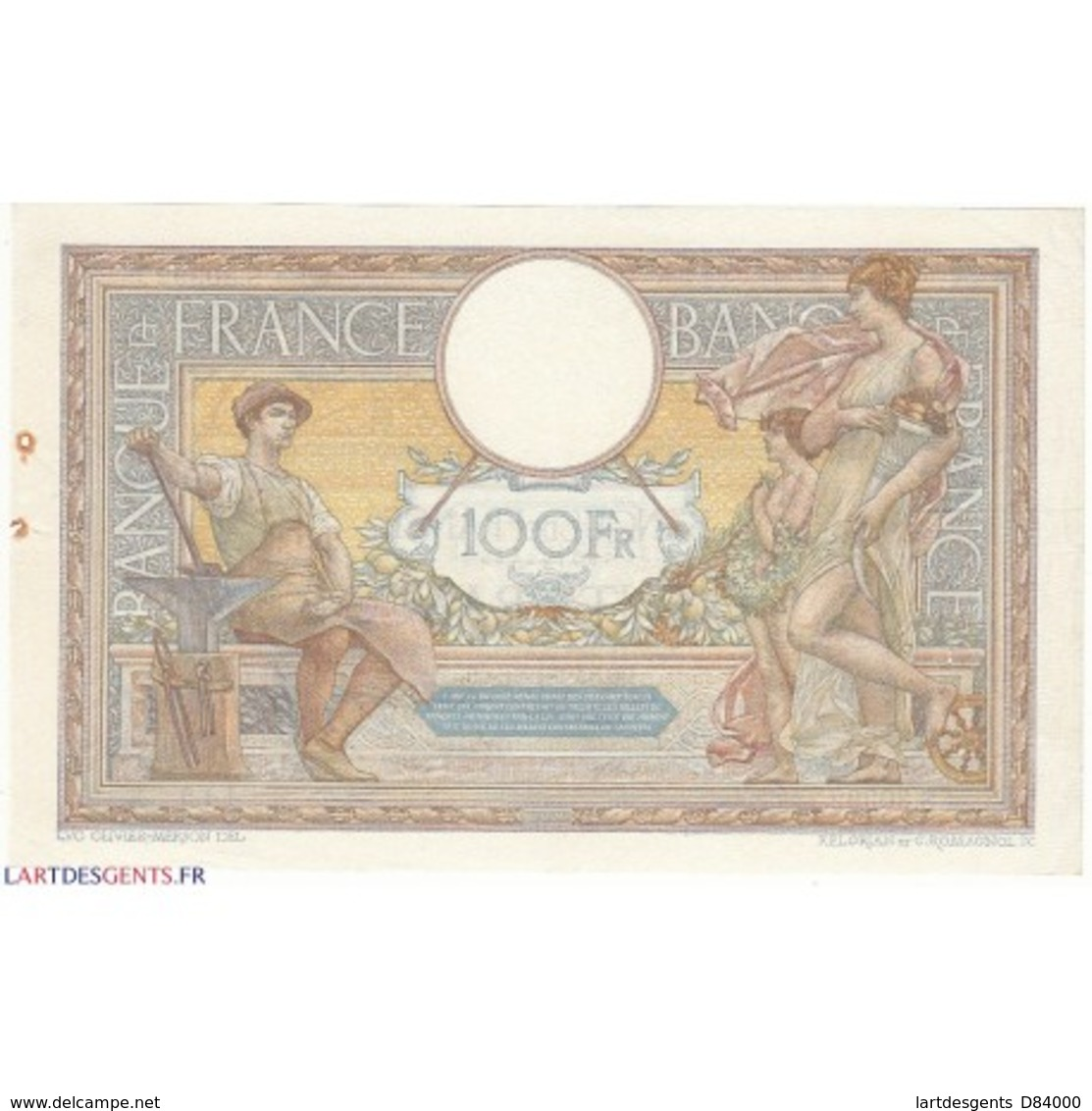 100 Francs LUC OLIVIER MERSON 15-05-1931 Fayette 24.10 - 1871-1952 Gedurende De XXste In Omloop
