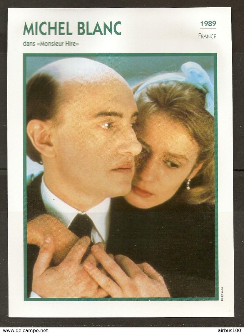 PORTRAIT DE STAR 1989 FRANCE - ACTEUR MICHEL BLANC Dans MONSIEUR HIRE - ACTOR CINEMA FILM PHOTO - Fotos