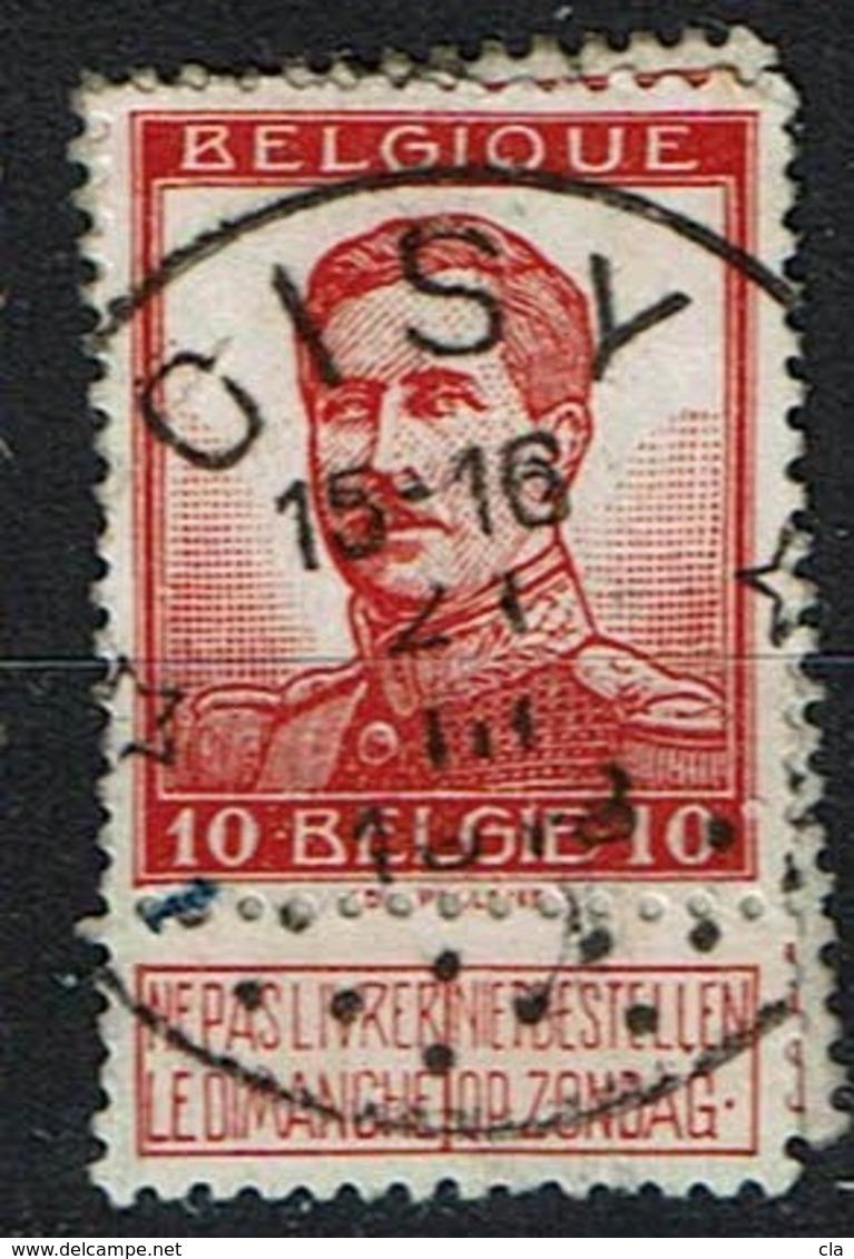 118  Obl Relais  Oisy  30 - 1912 Pellens