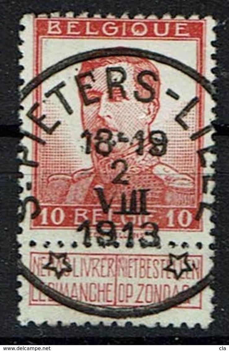 118  Obl Relais  St Pieters-Lille  8 - 1912 Pellens