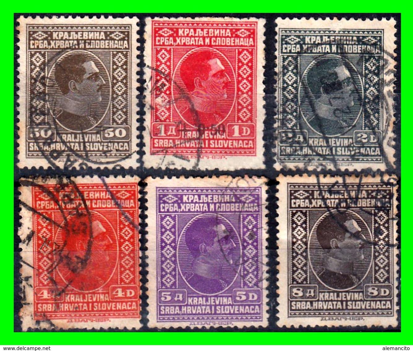 YUGOSLAVIA SELLO AÑO 1926-1927 KING ALEXANDER - 1919-1929 Reino De Los Serbios, Croatas Y Eslovenos