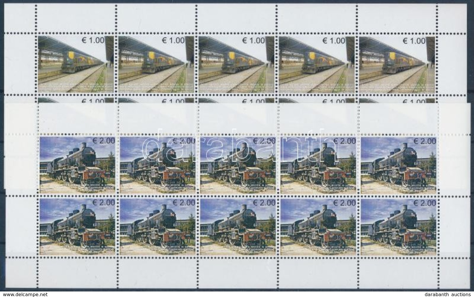 ** 2007 Mozdony Kisív Sor Mi 90-91 - Francobolli