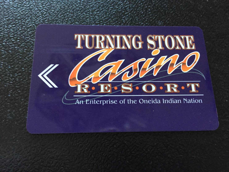 Hotelkarte Room Key Keycard Clef De Hotel Tarjeta Hotel  TURNING STONE VERONA NY - Telefonkarten