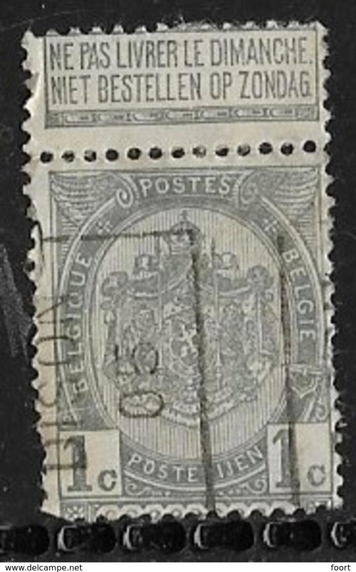 Dison 1905  Nr. 664A Vouw - Roller Precancels 1900-09