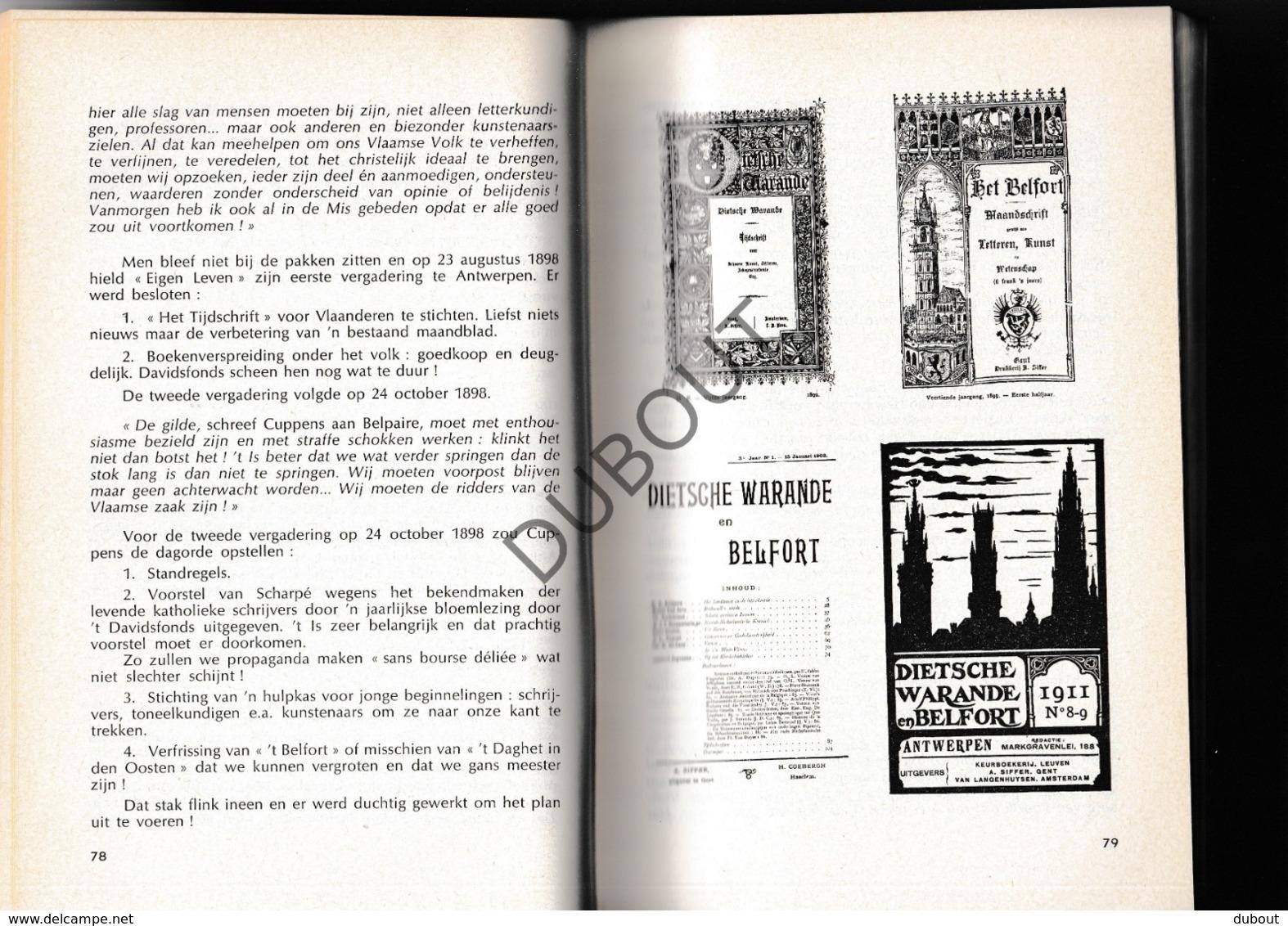 LOKSBERGEN/Halen - Priester-Dichter August Cuppens - Bernard Cuppens (R456) - Boeken, Tijdschriften, Stripverhalen