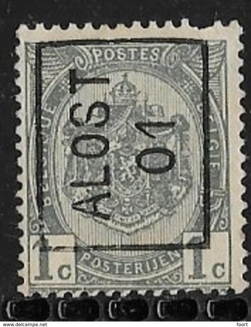 Aalst 1901  Nr. 338Azz - Precancels