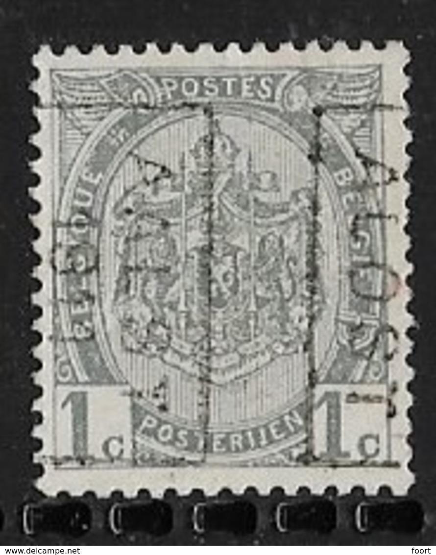 Aalst 1911  Nr. 1595Bzz - Roller Precancels 1910-19
