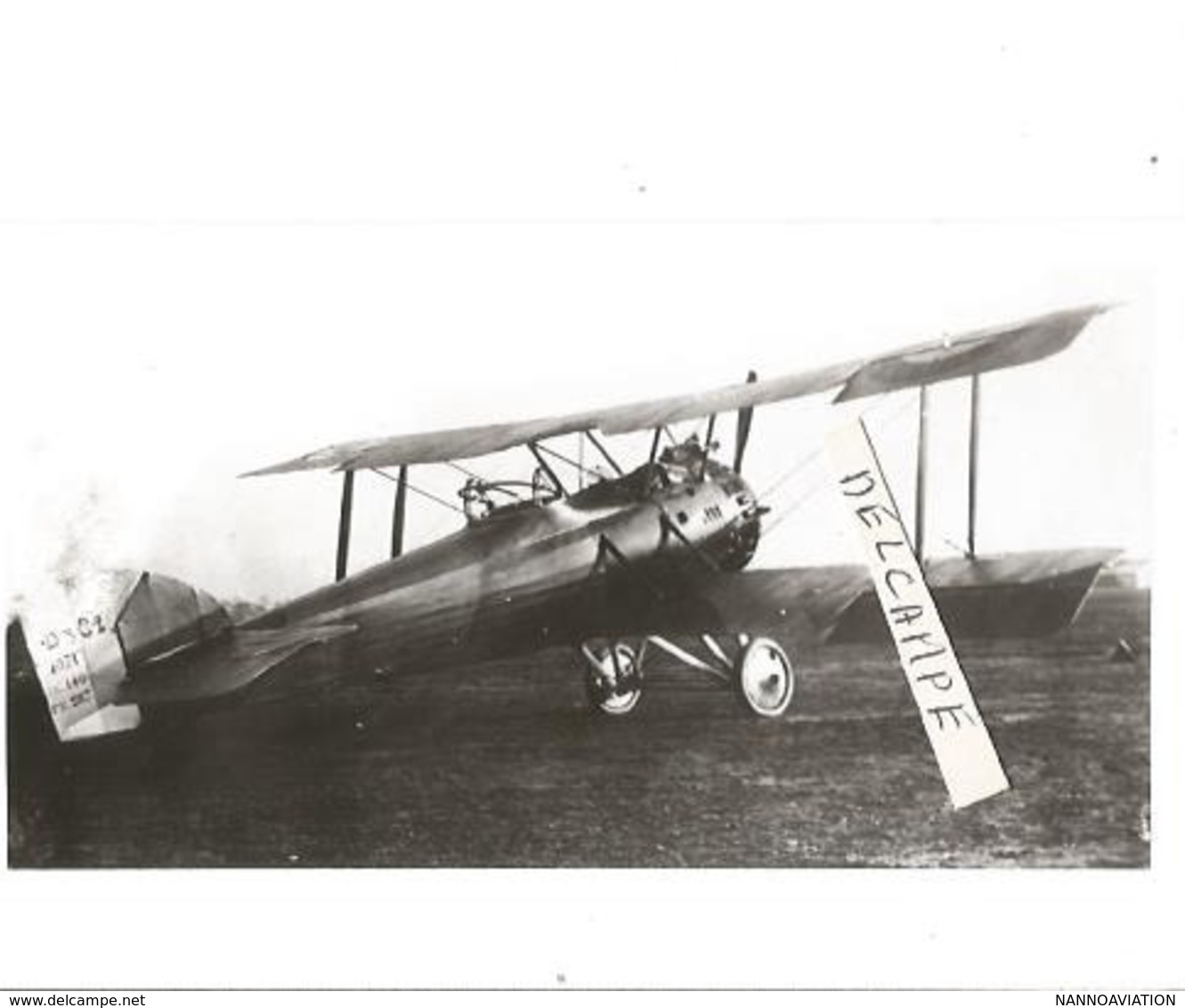 PHOTO AVION HANRIOT 1071 ? 12X8CM - Aviation