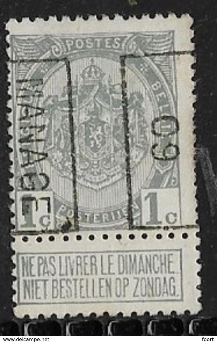 Manage  1909  Nr. 1328B - Precancels