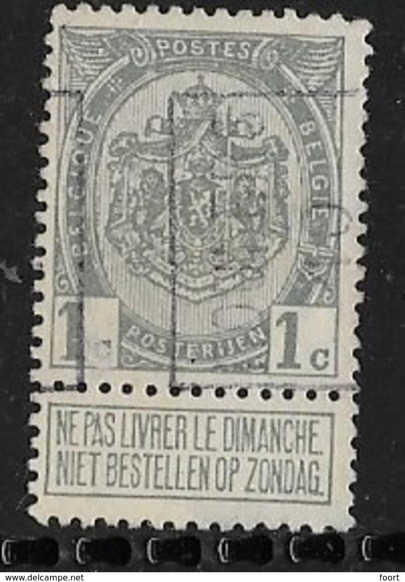 Roeselaere  1910  Nr. 1479A - Rolstempels 1910-19