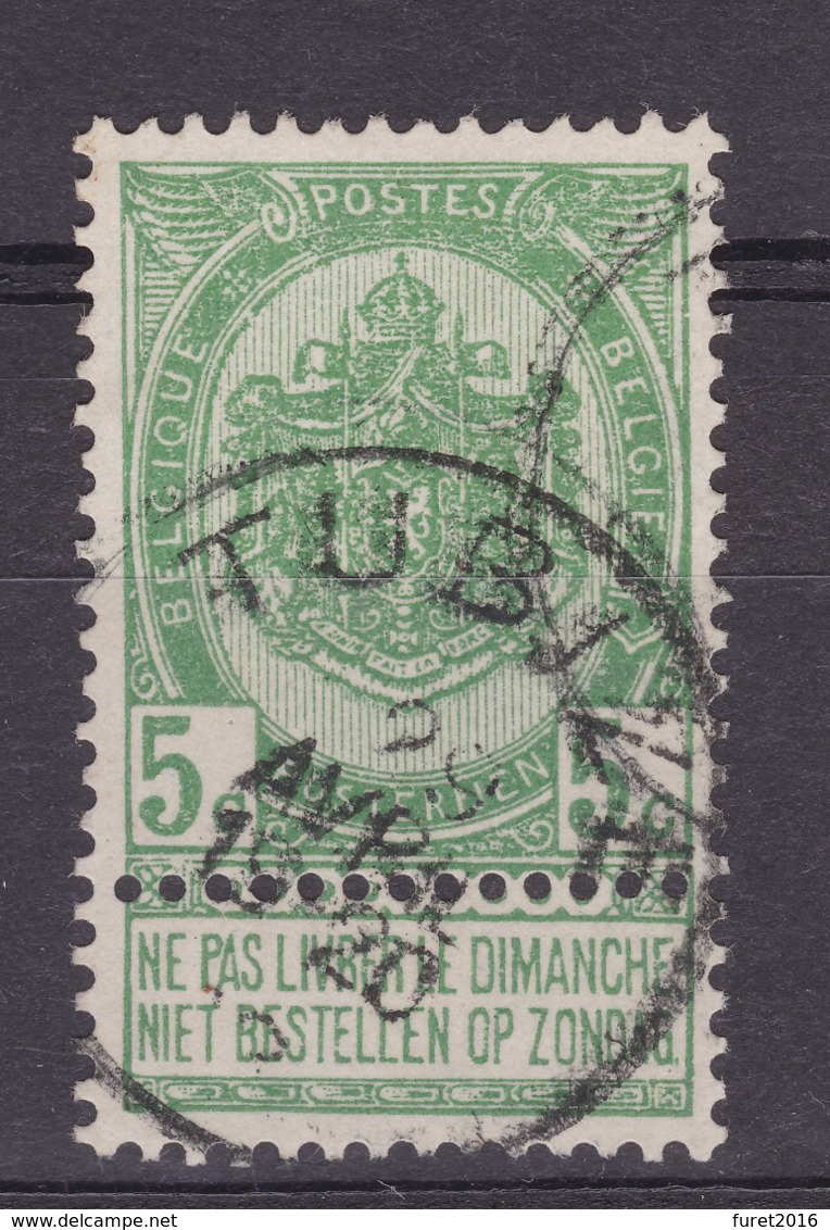 N° 56  TUBIZE - 1893-1907 Armoiries