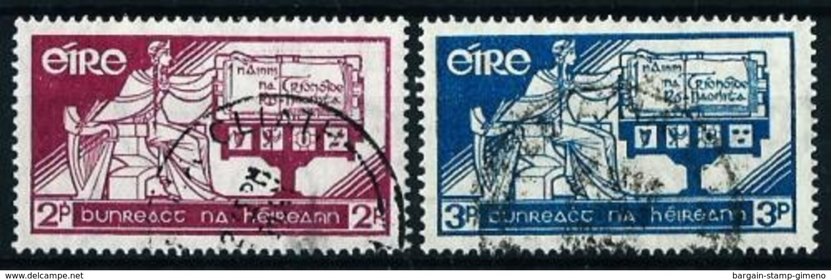 Irlanda Nº 71/2 Usado Cat.7€ - Used Stamps