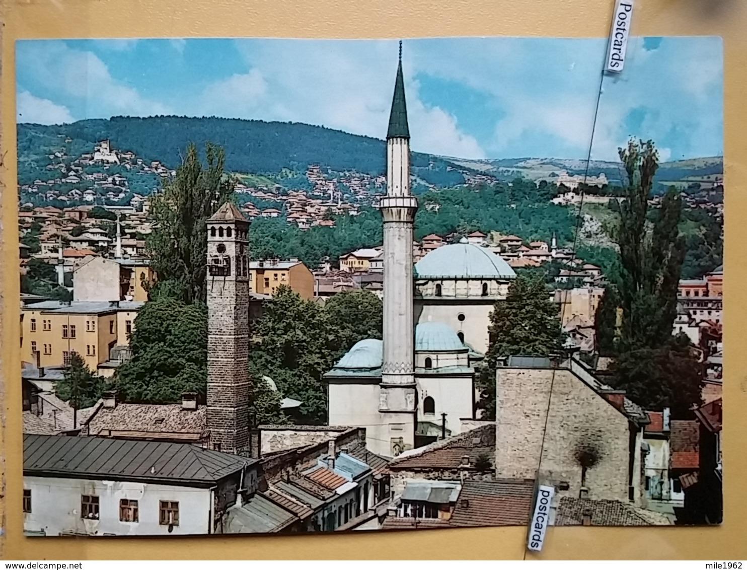 KOV 303-7 -  SARAJEVO, BOSNIA AND HERZEGOVINA, MOSQUE, BEGOVA DZAMIJA, - Bosnien-Herzegowina