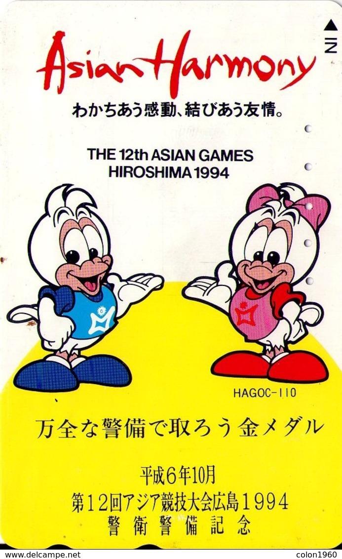 JAPON. SPORTS. Asian Harmony. Asian Games - Hiroshima '94. JP-110-011-cart-3843.01. (108) - Sport