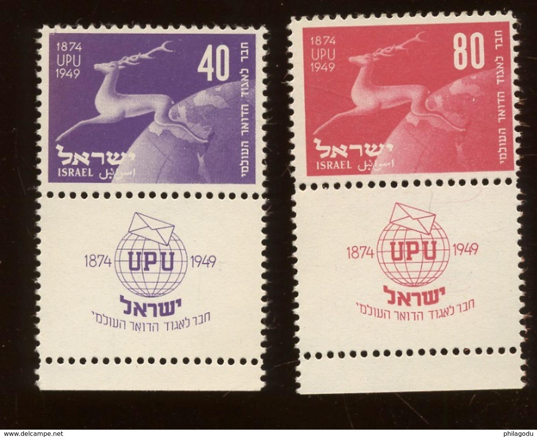 YV. 27/28 **. Cote 120 Euros - Israel